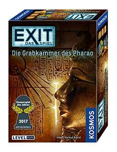 [Amazon PRIME] EXIT KOSMOS: Die Grabkammer des Pharao - Kennerspiel des Jahres 2017