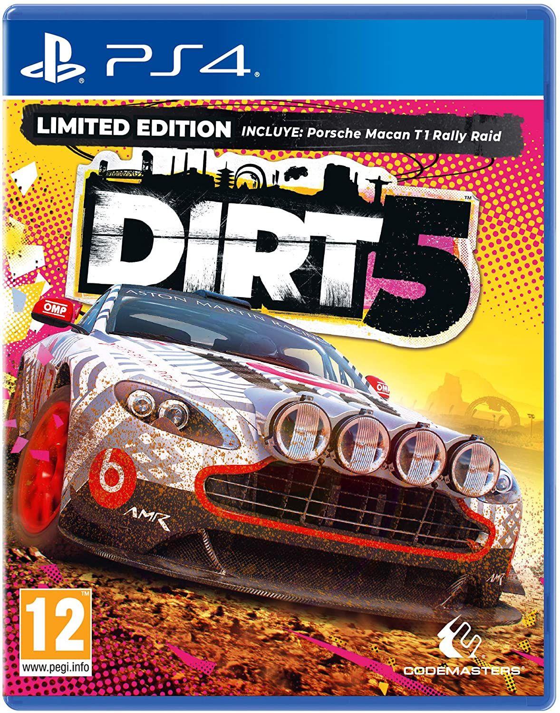 DIRT 5 Amazon Limited Edition inkl. Porsche Macan T1 Rally Raid (PEGI) [Playstation 4] // für Xbox 27,07€