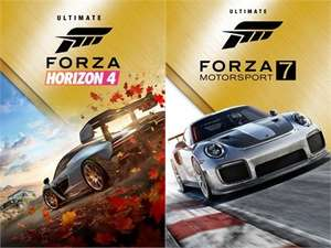 Forza: Horizon 4 & Motorsport 7 Sammeldeal · Deluxe Ultimate Add-Ons Lego Speed Champions Fortune Car Pass · Xbox & PC · Microsoft Island