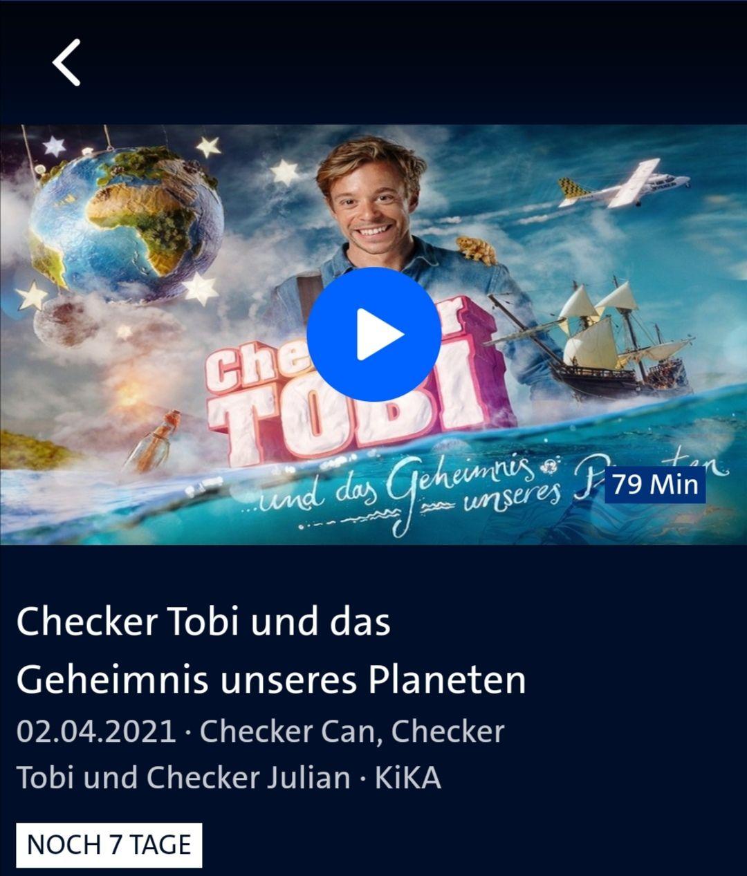 Checker Tobi und das Geheimnis unseres Planeten / IMDb 7,1 / Mediathek