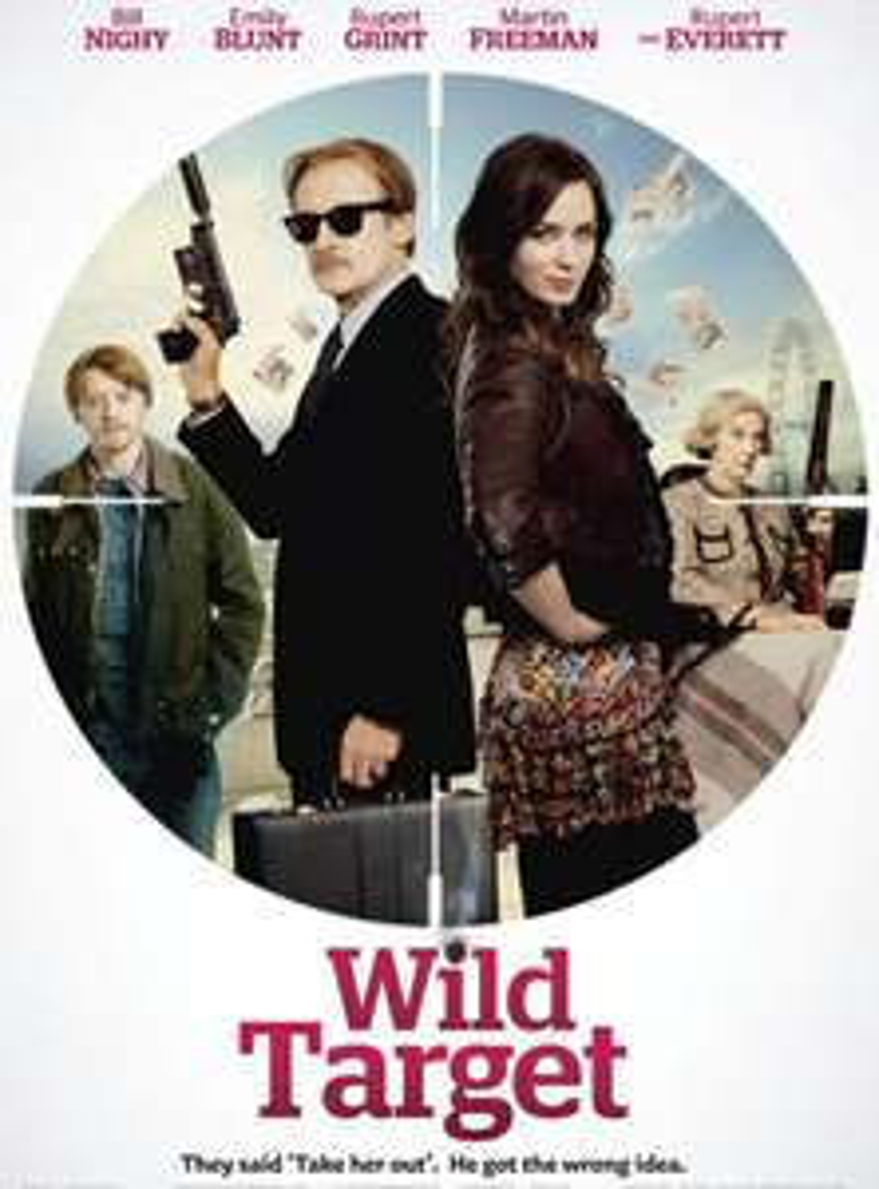 """[ServusTV Mediathek] """"Wild Target"""" mit Emily Blunt und Bill Nighy kostenlos streamen"""