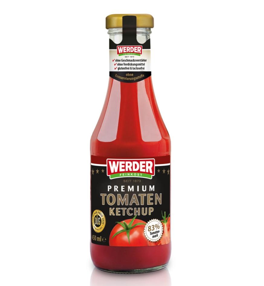 [Lokal Rewe] Werder Premium Tomaten Ketchup - 450 ml