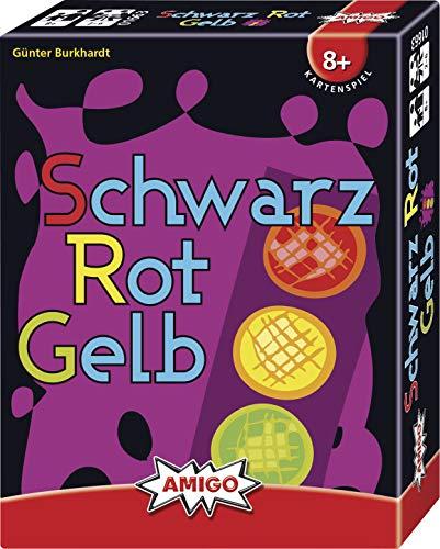 """[amazon PRIME] Kartenspiel Gesellschaftsspiel """"Schwarz Rot Gelb"""" (2-6 Spieler ab 8 Jahren, Amigo 1720 1663, ausgezeichnet mit """"Spiel gut"""")"""