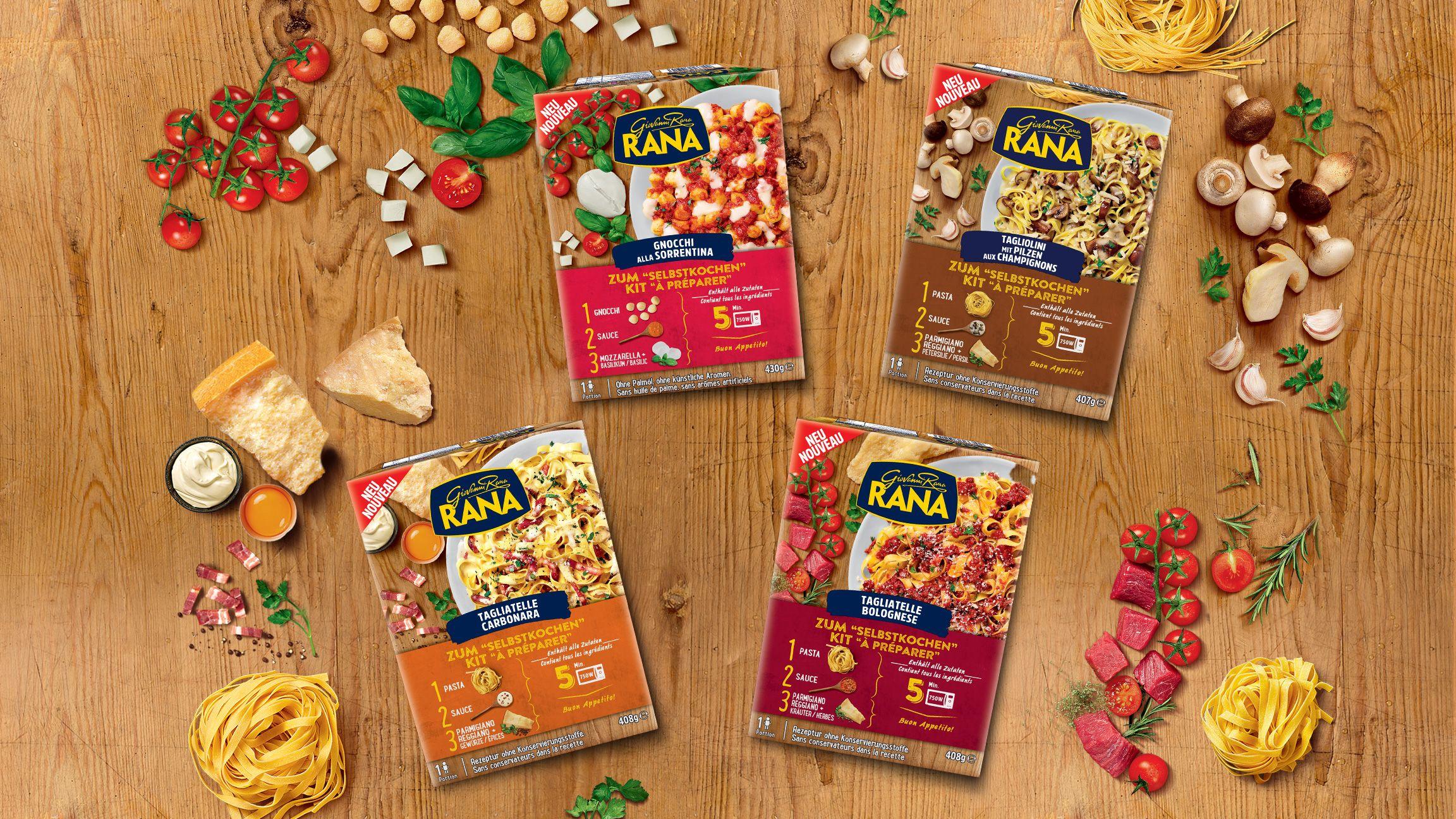 [Kaufland Do-Mi] Giovanni Rana Pasta Set versch. Sorten mit Coupon für 1,99€