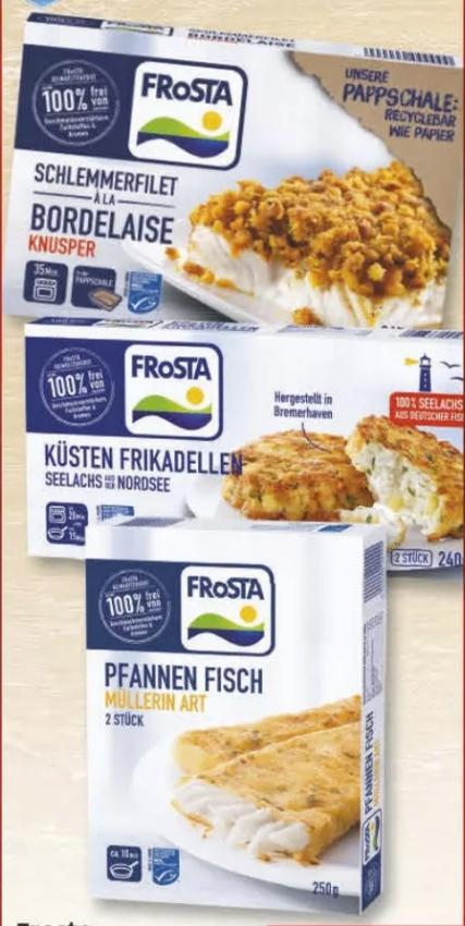 [Regional Edeka Weidemann / Peitz nur am 06.04-07.04] Frosta Fischgerichte versch. Größen und Sorten für 1,59€