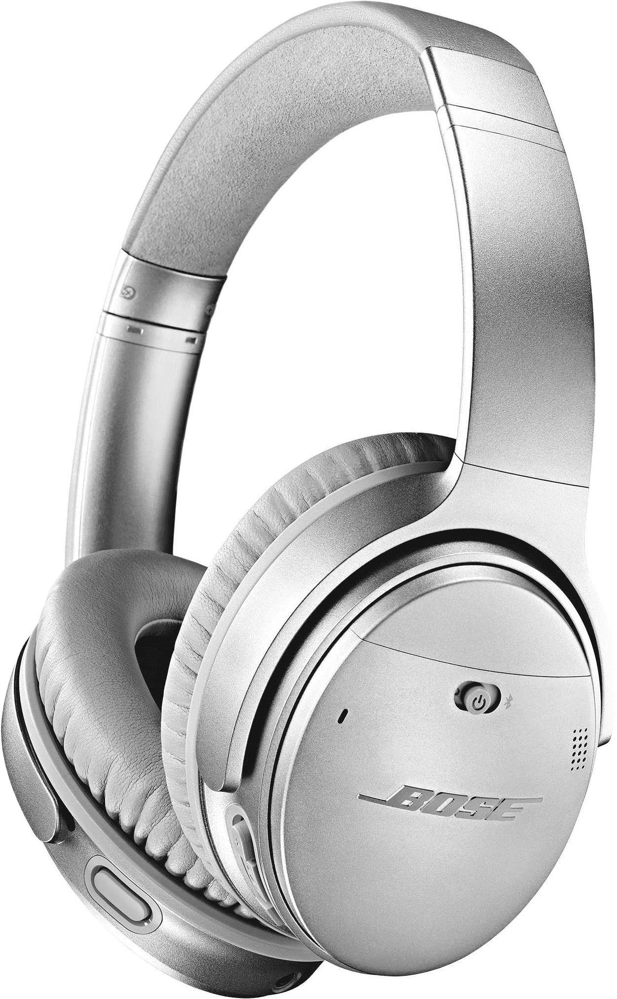 BOSE Quietcomfort 35 II QC35II Over Ear silber Noise Cancelling Wireless Kopfhörer für 169,89 EUR (Newsletter)