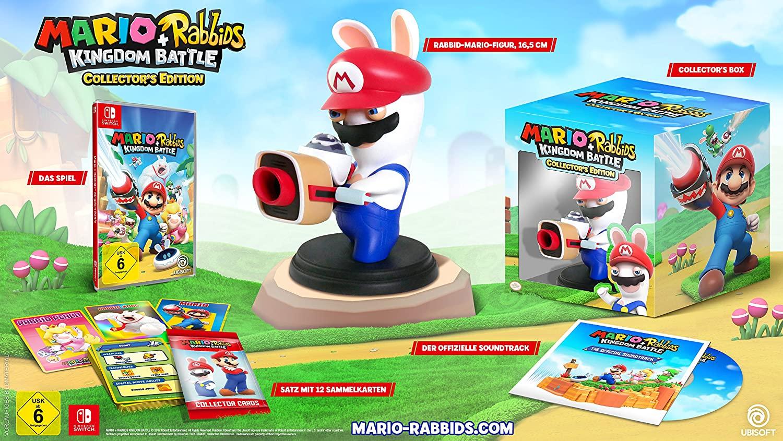 Mario+Rabbits kingdom Battle Collectors Edition