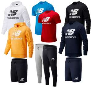 New Balance Essentials Sale inkl. gratis Versand, zB: Jogginghose Essentials Stacked Logo