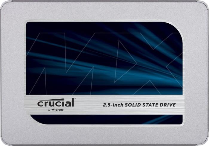 Crucial MX500 1TB, SATA SSD (3D-NAND TLC, R560, W510, 1GB Cache, 5 Jahre Garantie)