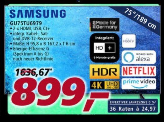 Samsung GU75TU6979