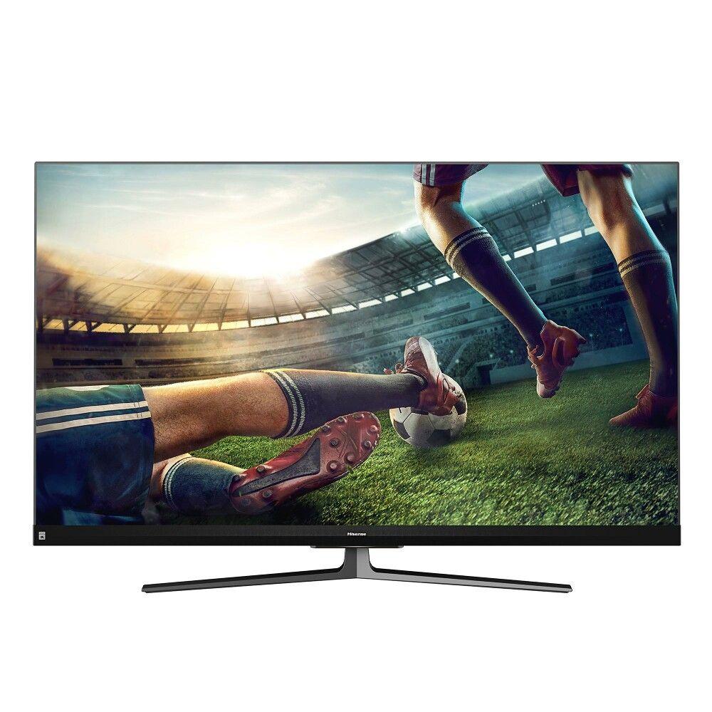 HISENSE H55U8QF LED TV (55 Zoll (139 cm), 4K UHD, Smart TV, HDR, USB-Aufnahme, Sprachsteuerung) 100Hz