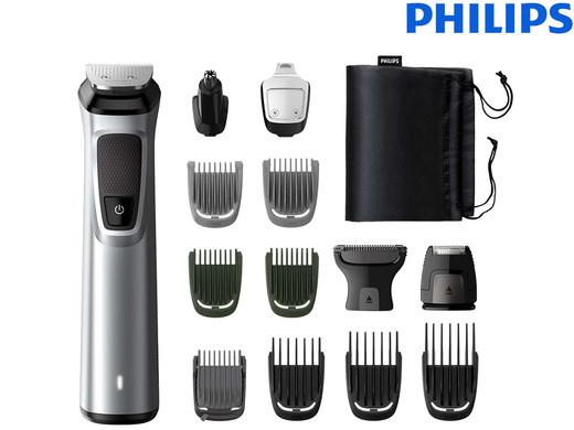 Philips Multigroom MG7720/15 (14 Aufsätze, DualCut, 120 Minuten Akkulaufzeit) [iBOOD]