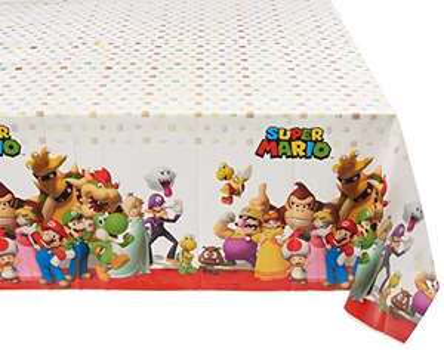 amscan Super Mario - Tischdecke (1.37m x 2.43m) [Amazon Prime]