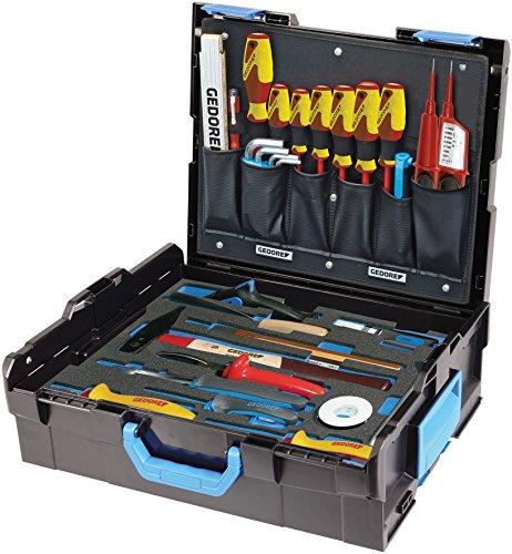 GEDORE L-BOXX 136 Umfangreicher Elektriker Werkzeugkasten mit Check-Tool-Einlage VDE Werkzeugset für 383,80€ inkl. Versandkosten