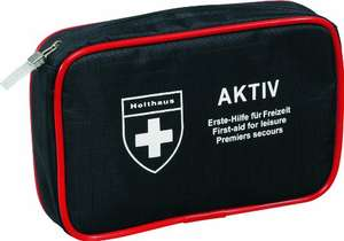 Holthaus Aktiv Verbandtasche - Erste Hilfe für Freizeit und auf der Reise für 3,27€ mit Prime