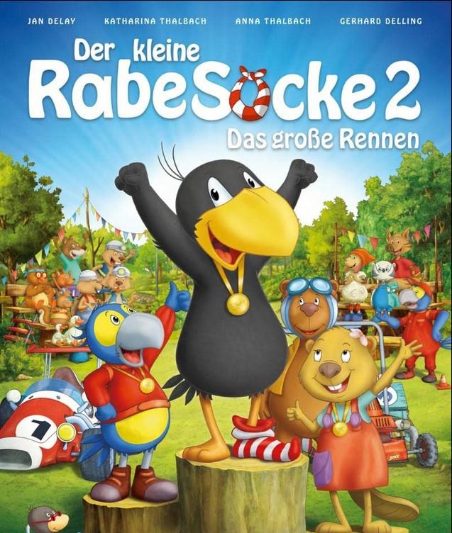 [ARD Mediathek] Kinderkino Der kleine Rabe Socke 2 - Das große Rennen (2015) kostenlos streamen