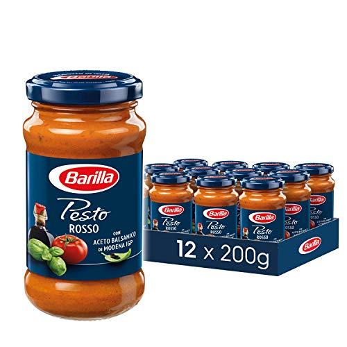Barilla rotes Pesto Rosso, 12er Pack (12x200 g) Sparabo