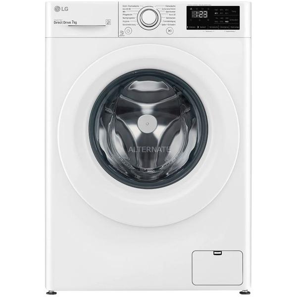 LG F14WM7EN0E Waschmaschine (EEK D, 7kg, 1350U/min, Dampf, AquaStop, Programmautomatik, Startzeitvorwahl, Inverter-Motor, NFC)