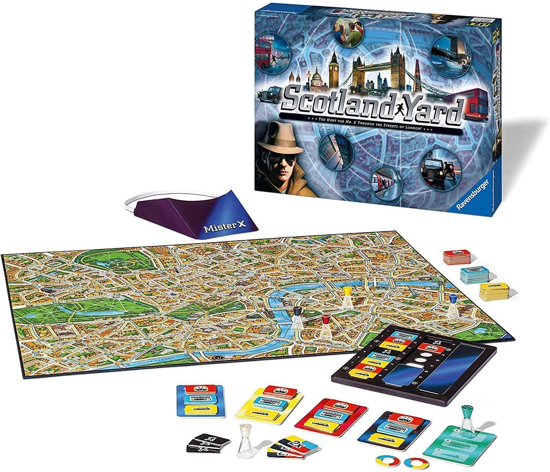 [Prime] Brettspiele, englische Versionen (12), Monopoly, Enchanted Forest (Sagaland), Game of Thrones Cluedo z.B. Scotland Yard