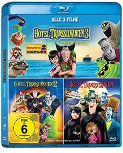Hotel Transsilvanien 1-3 Blu-ray(3 Disks) Collection für 6,47€ mit Prime