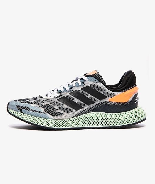 Adidas 4D Run 1.0 - Weiß/Schwarz/Orange 75€ + 5€ Versand nur noch in US 8 erhältlich!