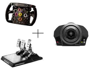 Thrustmaster Formel 1 Bundle für PC/Xbox: TXRacing Wheel Servo Base + Ferrari F1 Wheel + T-LCM Pedals