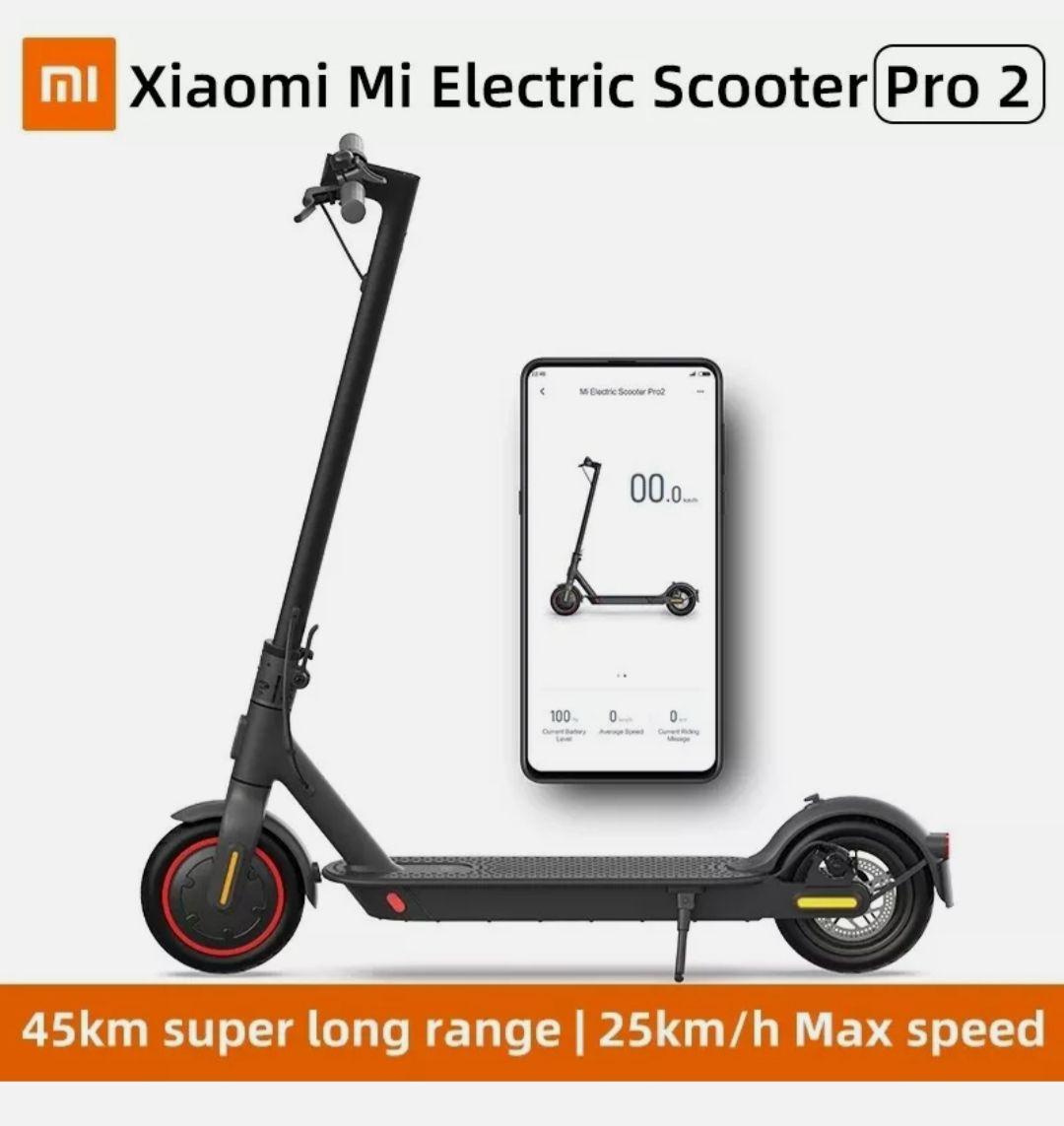 *Ohne Straßenzulassung in D* Xiaomi Mi Scooter Pro 2 E-Roller Faltbar 25 km/h