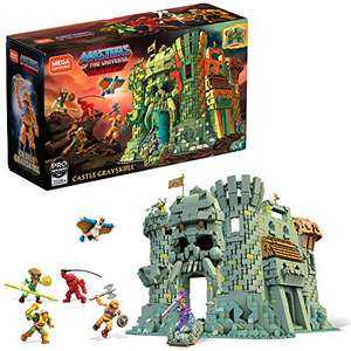 SAMMELDEAL - Mega Construx Mattel Master of the Universe - u.a. Castle Grayskull GGJ67/Point Dread GPH24/