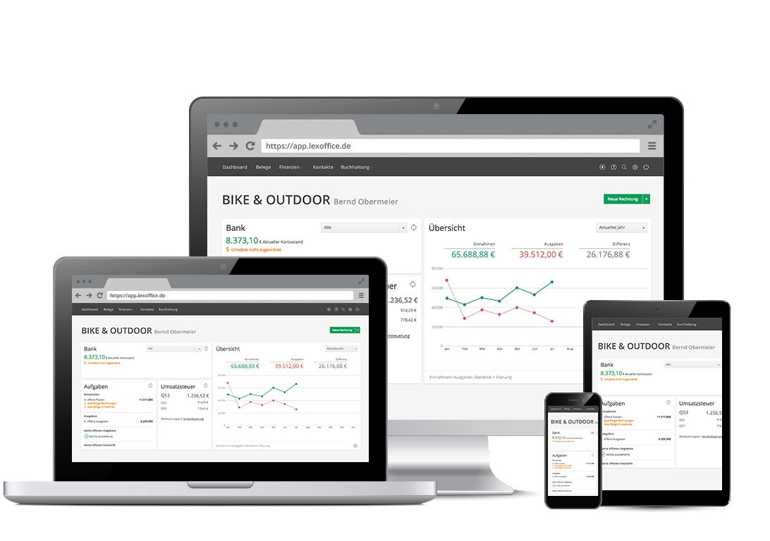 LexOffice 12 Monate gratis Testen als Existenzgründer (LexRocket)