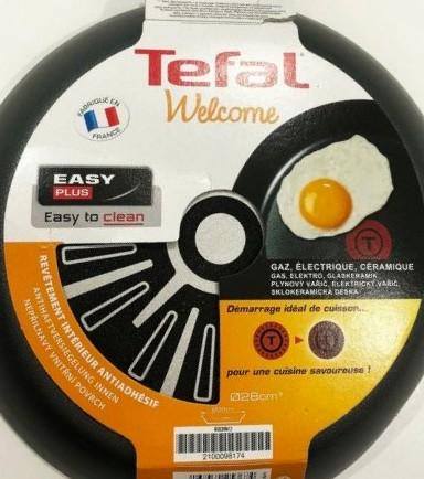 """Tefal """"Welcome"""" Bratpfanne Ø 28 cm (10,95€) oder Ø 24 cm (8,95€), div. Backformen (ab 2,69€)"""