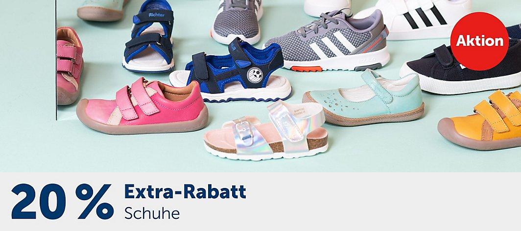 MYTOYS 20% Extra-Rabatt auf Kinder Schuhe