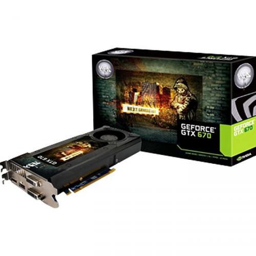 KFA² Geforce GTX 670 für 294,89€ @ Caseking.de