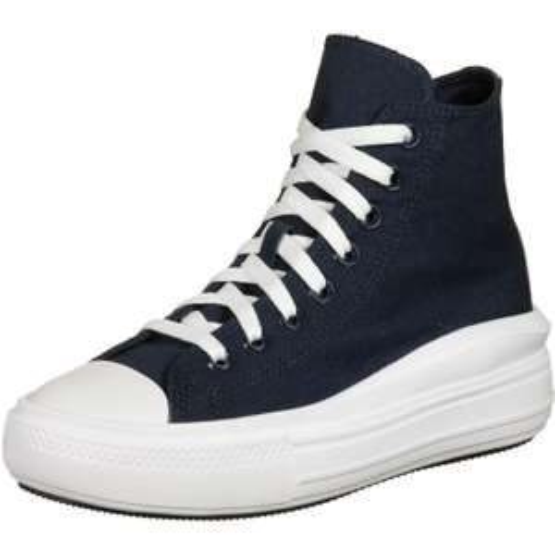 Converse Chuck Taylor All Star Move Platform SchuheObsidian/Pure Silver/Wte [Stylefile]