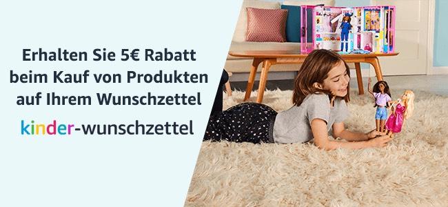 [Amazon] Kinder-Wunschzettel - 5€ Rabatt auf Ihren nächsten Einkauf