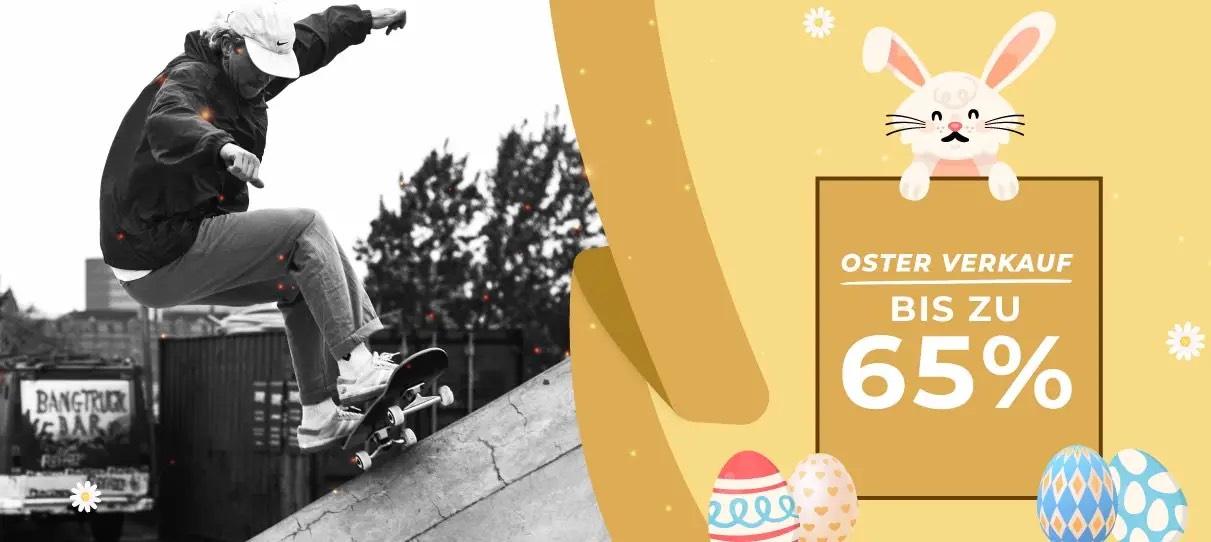 Euroskateshop bietet zusätzlich zum Sale nochmal 10% on Top