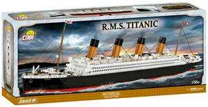 COBI 1916 - R.M.S. Titanic, große Titanic, Klemmbausteine, 2840 Teile