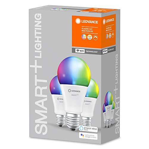 [Amazon Prime] 3er Ledvance Smart+ WiFi Classic Multicolour RGB E27 dimmbar