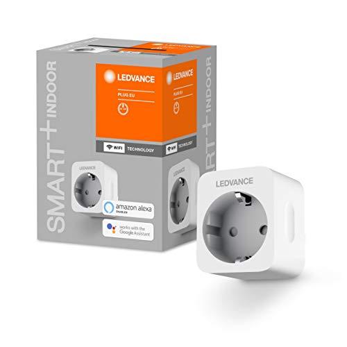 [Amazon Prime] LEDVANCE SMART+ Steckdose für WiFi, mit Strom Vermessung, Steuerung per Fernbedienung möglich