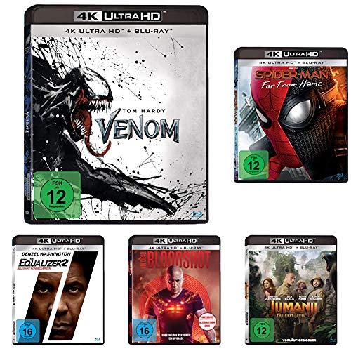 [Amazon.de] Heldenfilme oder Actionfilme (jeweils 5x 4K Blu-rays) für jeweils 49,97€