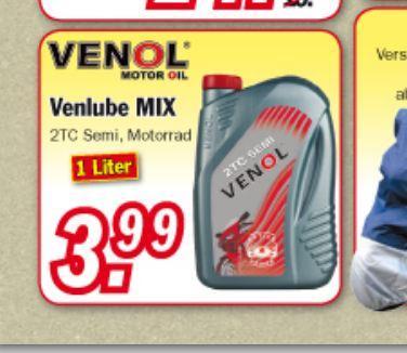 Venol 2TC Semi - Teilsynthetisches 2-Takt-Öl - Zimmermann