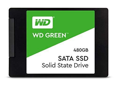 WD Green Internal SSD, Green 480GO