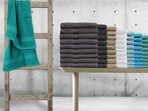 "9x Seashell Handtuch ""Hotel Collection"" (50 x 100 cm, 500 g/m², 9 Farben verfügbar) [iBOOD]"