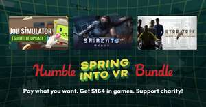 HUMBLE SPRING INTO VR BUNDLE ab 1€ (Steam)