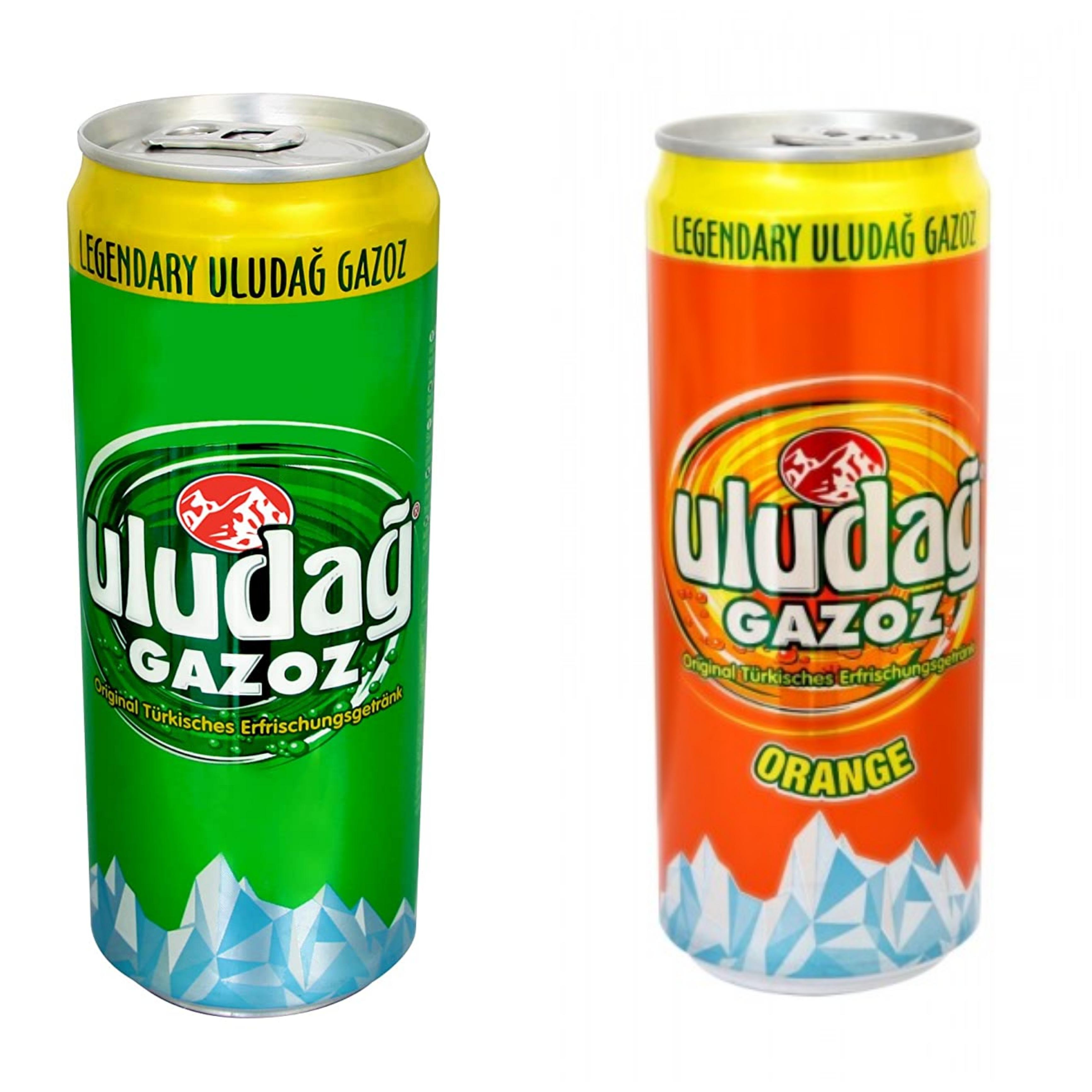 [ Aldi - Nord ] [ ab 09.04. ] Uludağ Gazoz & Uludağ Orange in der 0,33l Dose