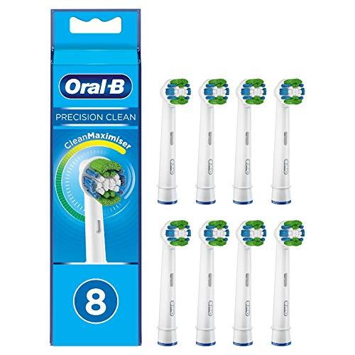Oral-B Precision Clean Aufsteckbürsten mit CleanMaximiser-Borsten für eine optimale Reinigung , 8 Stück noch - 15% im Sparabo für 11,88€