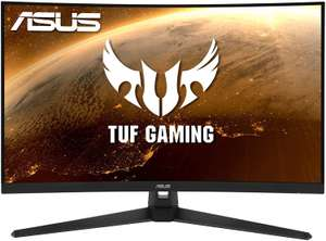"ASUS TUF Gaming VG32VQ1BR 31,5"" Curved WQHD-Monitor (VA, 165 Hz, adaptive Sync, AMD FreeSync Premium, 4 ms, HDMI, DisplayPort, HDR10, VESA)"