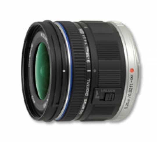 Olympus 9-18mm Zuiko MFT Objektiv mit 100 Euro Cashback für eff. 379€