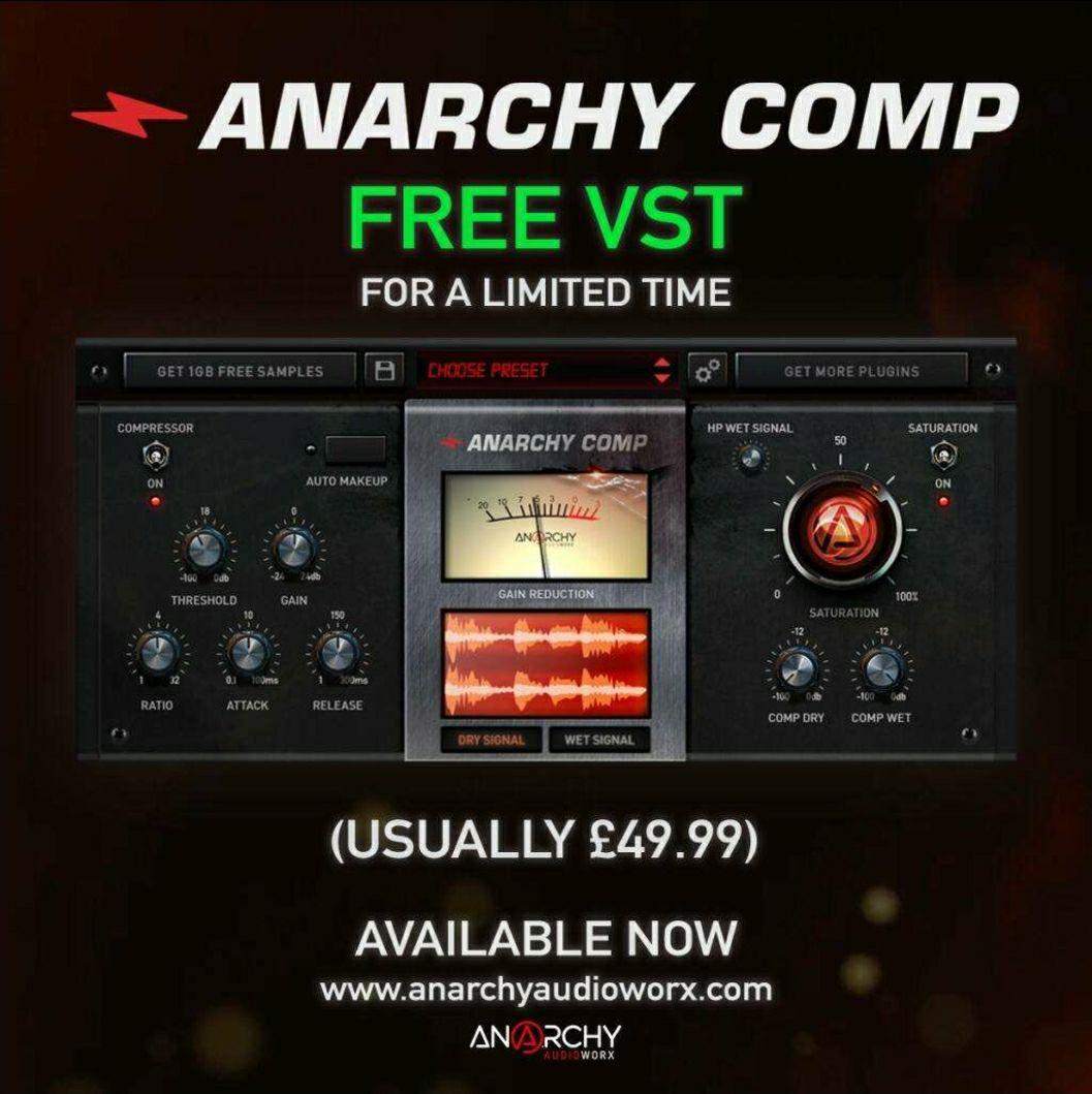 ANARCHY COMP VST & AU Plugin for Mac & PC