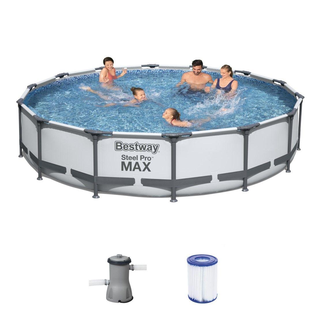 Bestway Steel Pro Max Pool Komplett Set 427x84