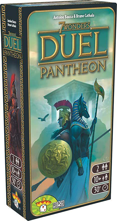 (Brettspiel) Pantheon - 7 Wonders Duel Erweiterung